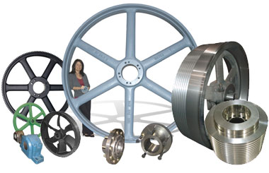 Gears, Pulleys and Belts